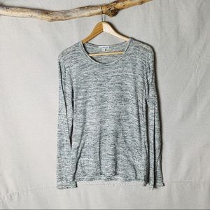 NWOT JAMES PERSE Salt & Pepper Long Sleeve Tee